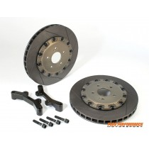 2x Rear 330mm/24mm Replacement Rotors