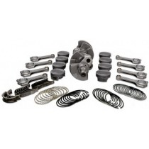 BMW M5 F10 S63B44Tu Stroker Kit Rotating Assembly, 4340 Crankshaft, 4340 Connecting Rods, Forged Pistons